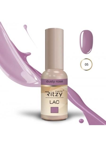Ritzy Lac UV/LED gel polish DUSTY ROSE 05