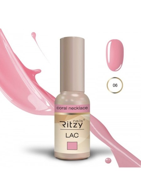 Ritzy Lac UV/LED gel polish Coral Neckless 06