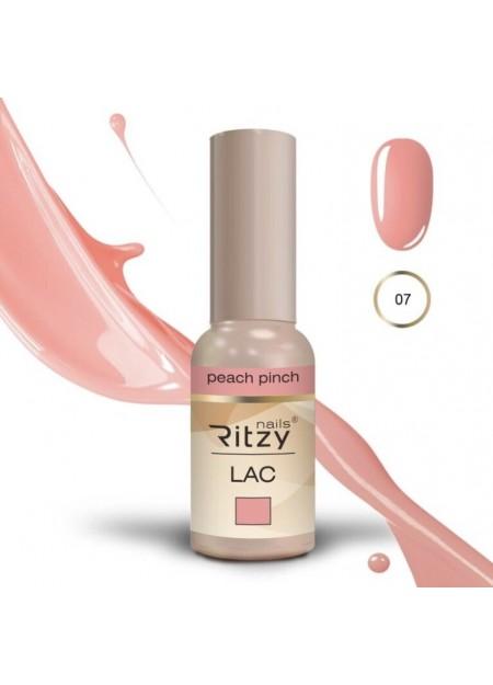 Ritzy Lac UV/LED gel polish Peach Pinch 07