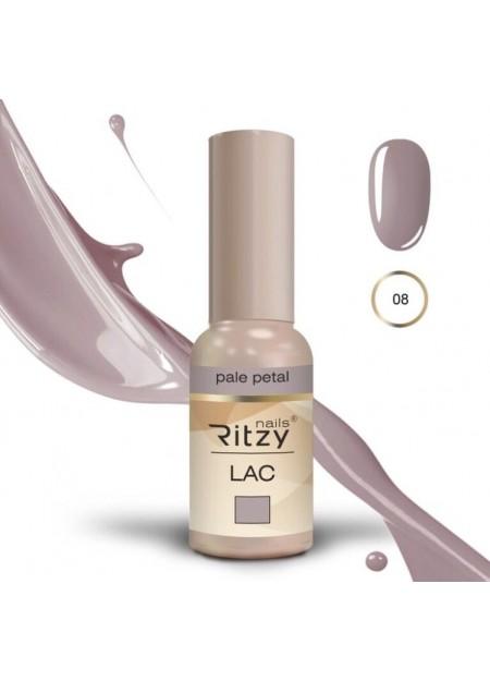 Ritzy lac uv/led gel polish pale petal 08