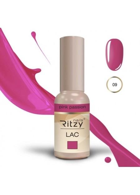 Ritzy Lac UV/LED gel polish Pink Passion 09