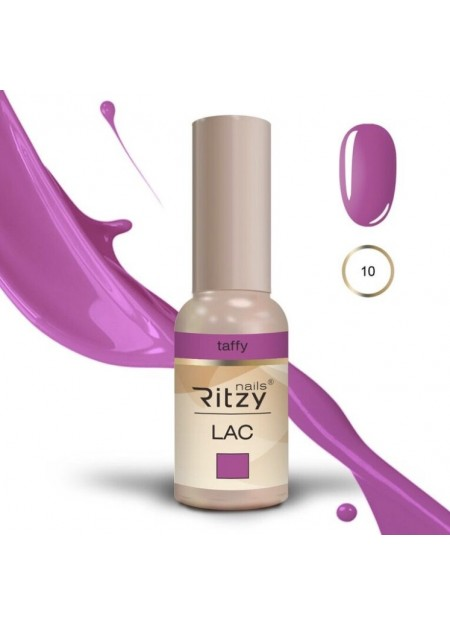 Ritzy Lac UV/LED gel polish Taffy 10