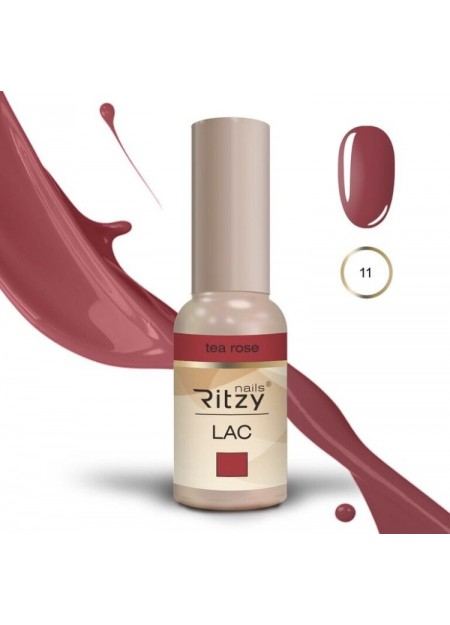 Ritzy Lac UV/LED gel polish Tea Rose 11