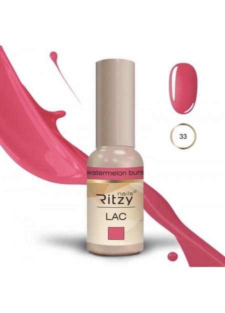 Ritzy Lac UV/LED gel polish Watermelon Burst 33