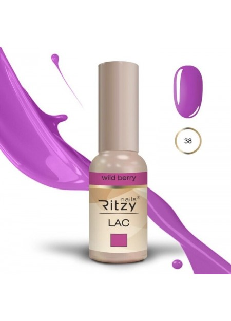 Ritzy Lac UV/LED gel polish Wild Berry 38