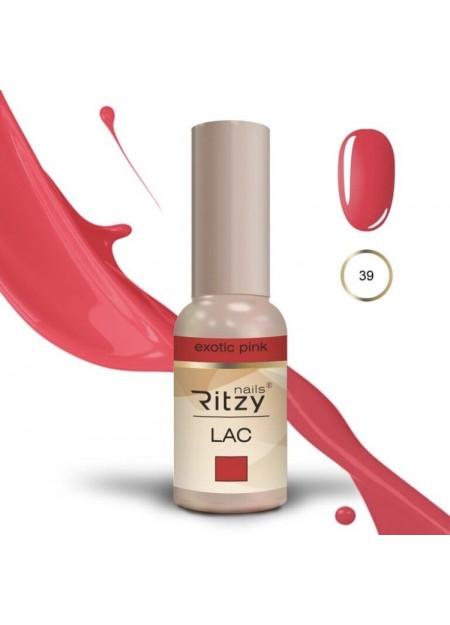Ritzy Lac UV/LED gel polish Exotic Pink 39