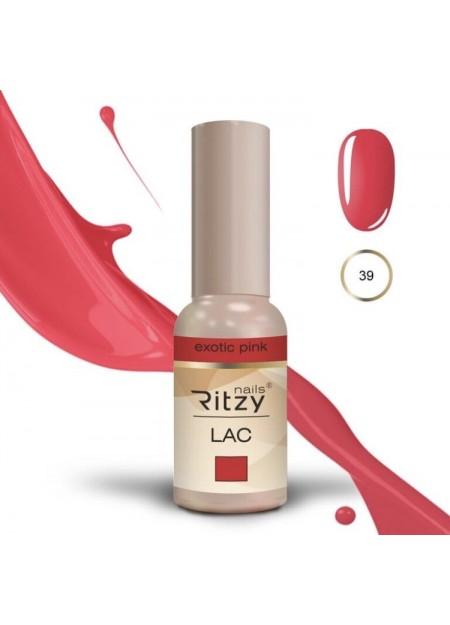 Ritzy Lac UV/LED gel polish Exotic Pink 39
