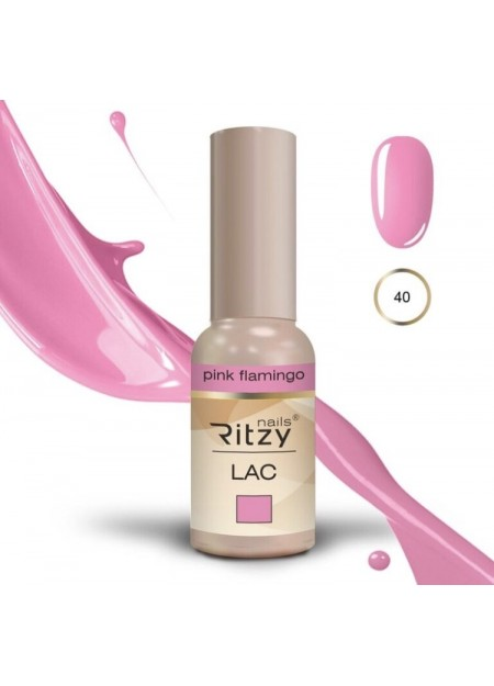 Ritzy Lac UV/LED gel polish Pink Flamingo 40