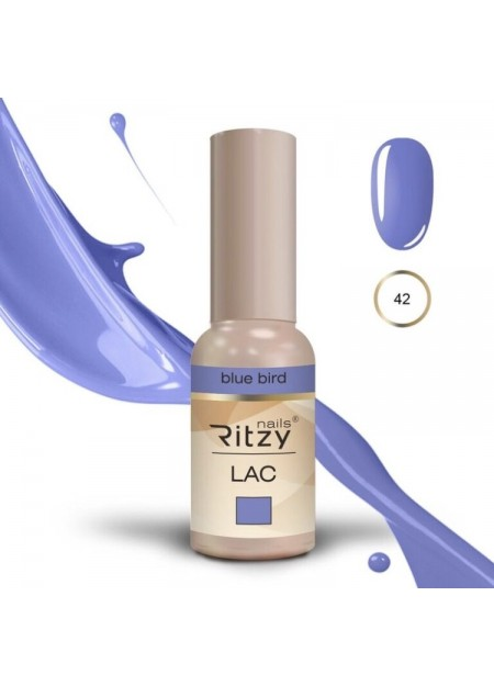 Ritzy Lac UV/LED gel polish Blue Bird 42