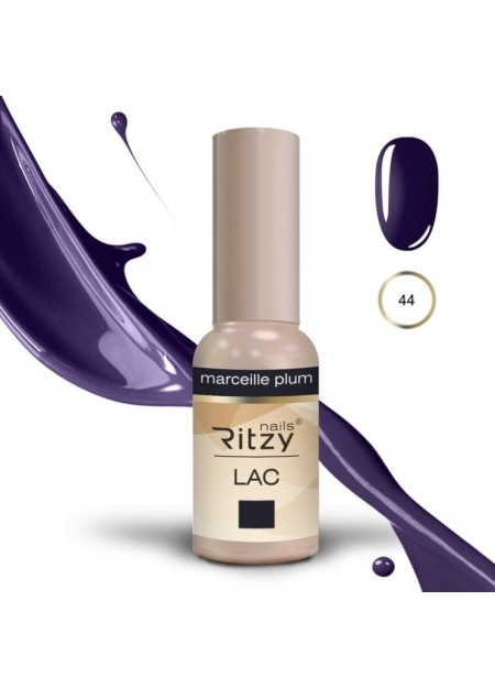 Ritzy Lac UV/LED gel polish Marseille Plum 44