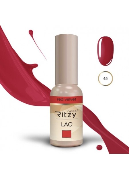 Ritzy Lac UV/LED gel polish Red Velvet 45