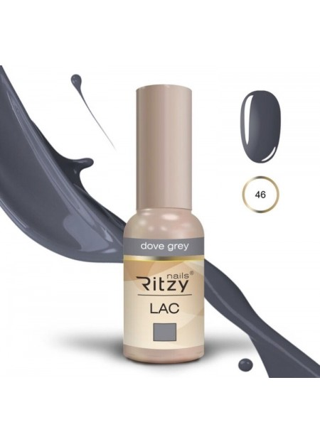 Ritzy Lac UV/LED gel polish Dove Grey 46