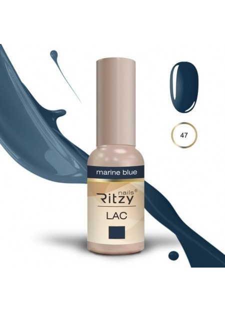 Ritzy Lac UV/LED gel polish Marine Blue 47