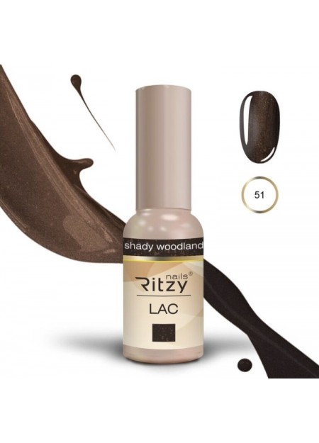Ritzy Lac UV/LED gel polish Shady Woodland 51