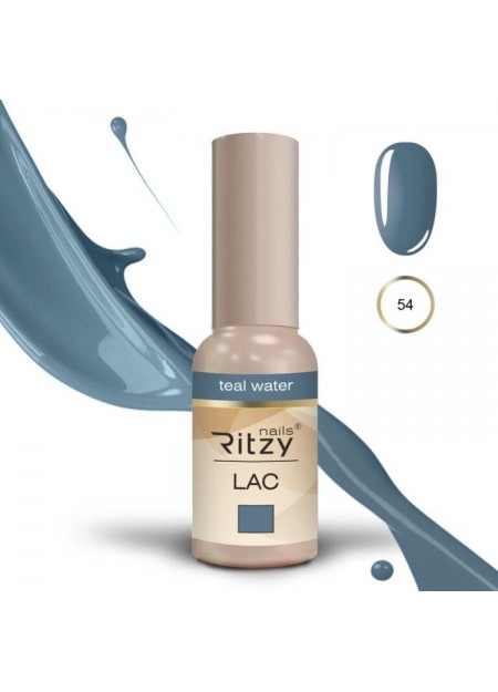 Ritzy Lac UV/LED gel polish Teal Water 54
