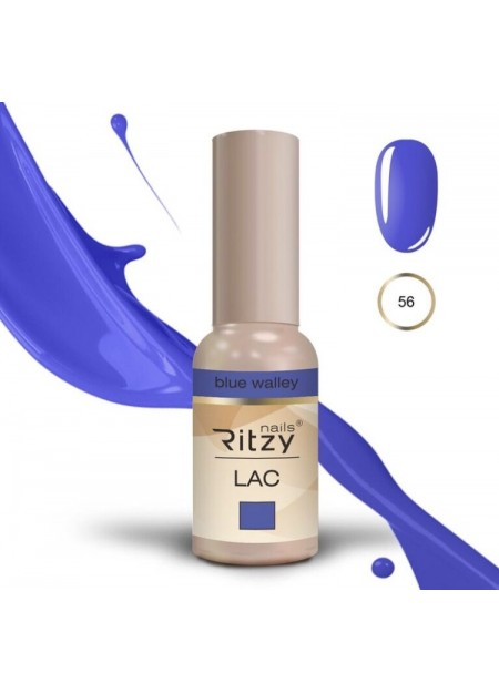 Ritzy Lac UV/LED gel polish Blue Valley 56