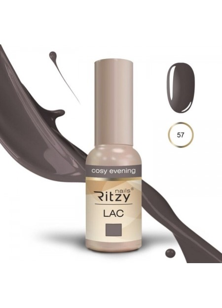 Ritzy Lac UV/LED gel polish Cozy Evening 57