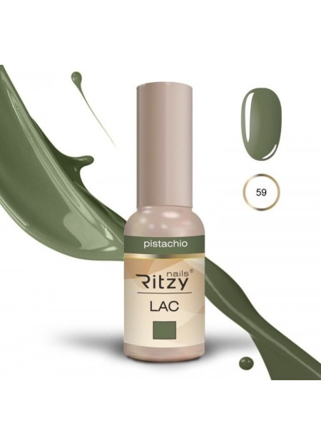 Ritzy Lac UV/LED gel polish Pistachio 59