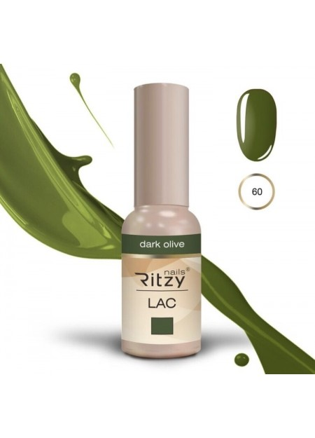 Ritzy Lac UV/LED gel polish Dark Olive 60