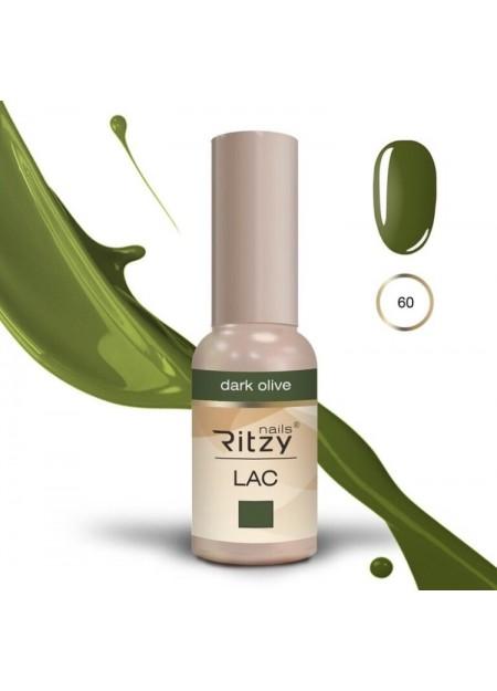 Ritzy Lac UV/LED gel polish Dark Olive 60