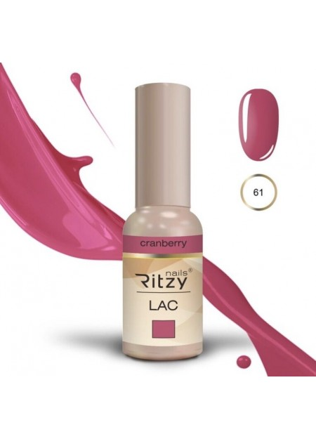 Ritzy Lac UV/LED gel polish Cranberry 61