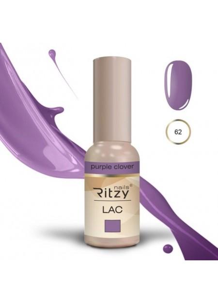 Ritzy Lac UV/LED gel polish Purple Clover 62