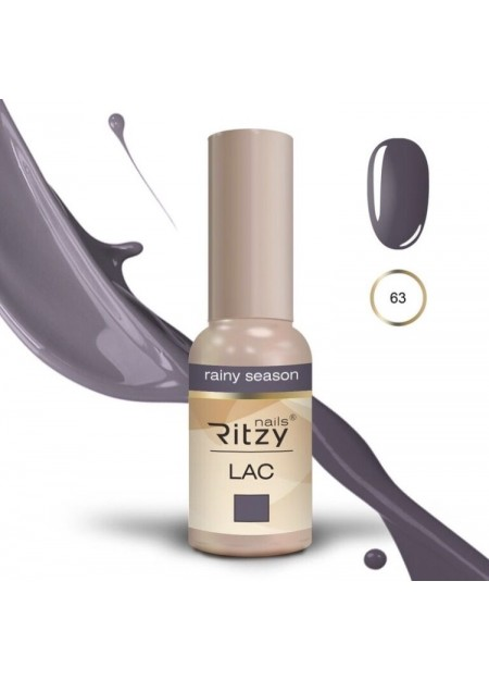 Ritzy Lac UV/LED gel polish Rainy Season 63