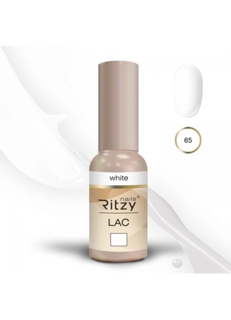 Ritzy Lac UV/LED gel polish White 65