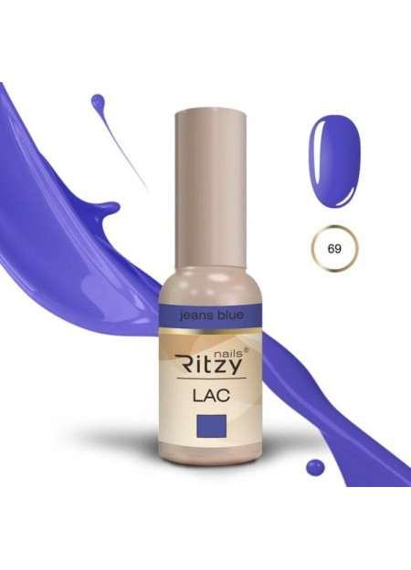 Ritzy Lac UV/LED gel polish Jeans Blue 69