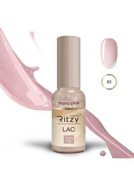 Ritzy Lac UV/LED gel polish Frosty Pink 83