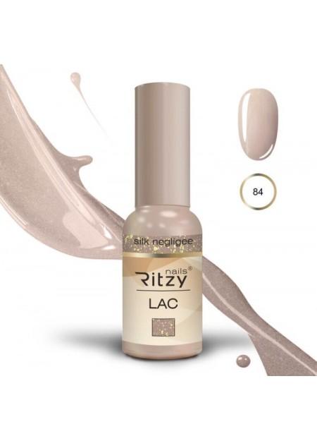 Ritzy Lac UV/LED gel polish Silk Negligee 84