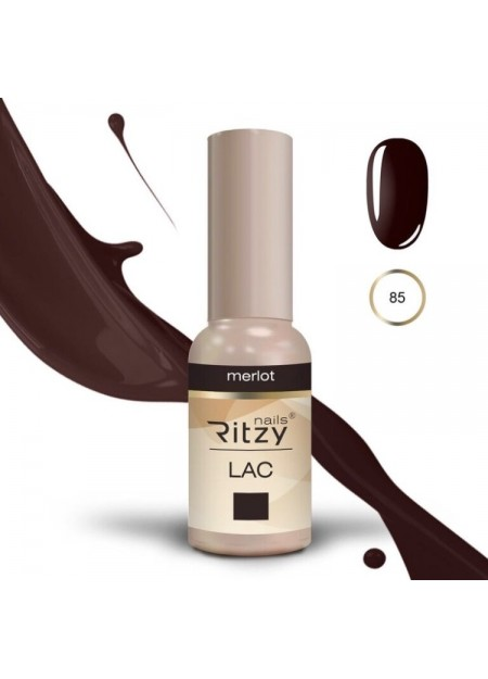 Ritzy Lac UV/LED gel polish Merlot 85