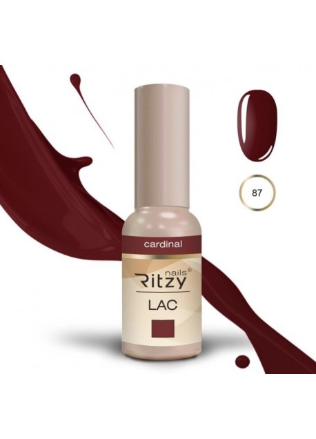 Ritzy Lac UV/LED gel polish Cardinal 87