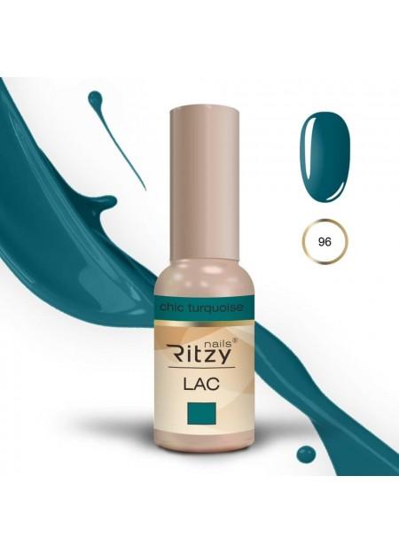Ritzy Lac UV/LED gel polish Chic Turquoise 96