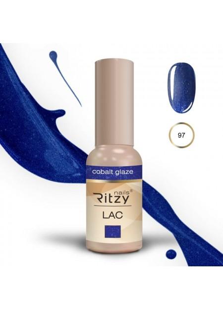 Ritzy Lac UV/LED gel polish Cobalt Glaze 97