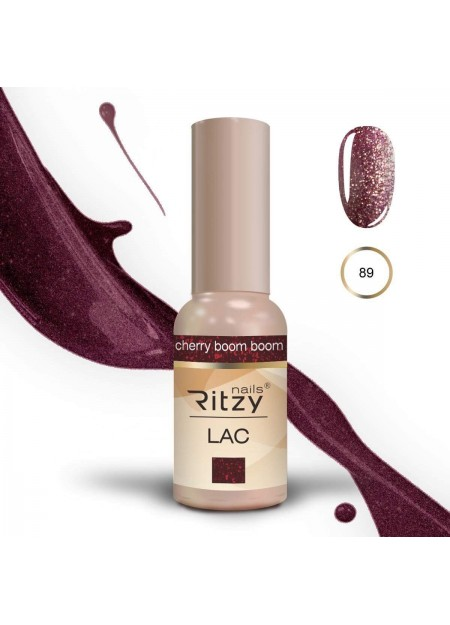 Ritzy Lac UV/LED gel polish Cherry Boom Boom 89