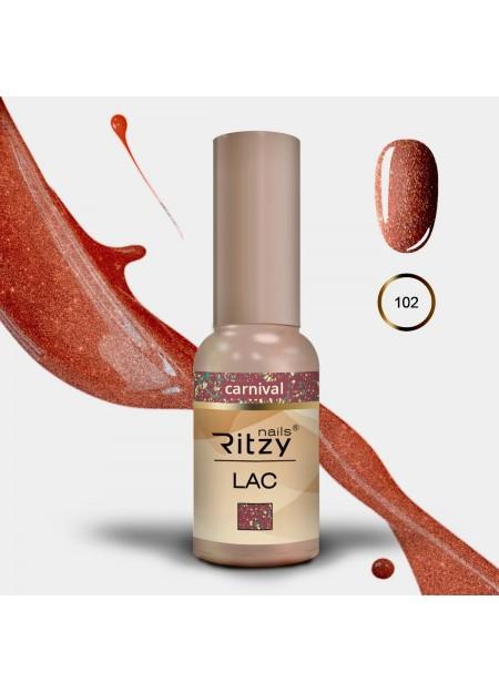 Ritzy Lac UV/LED gel polish Carnival 102
