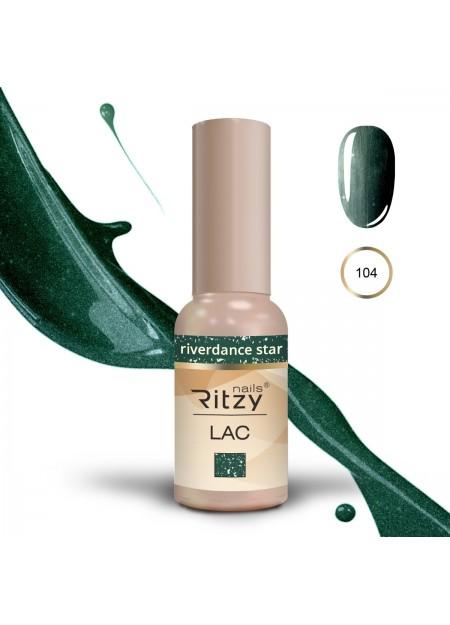 Ritzy Lac UV/LED gel polish Riverdance Star 104