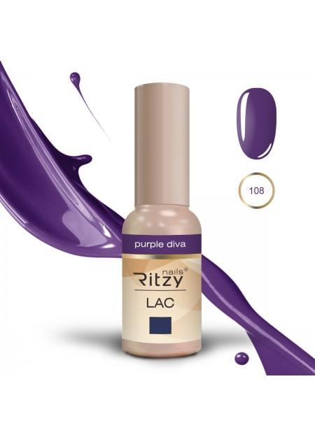 Ritzy Lac UV/LED Purple Diva 108