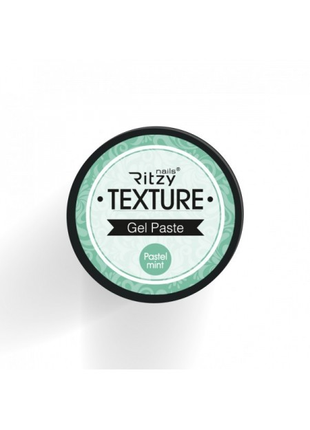 Texture 3d Gel Pasta Pastel Mint