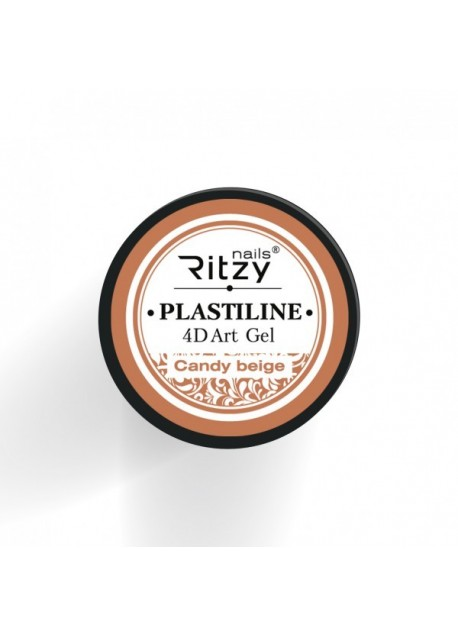 Plastiline 4d Art Gel Candy Beige