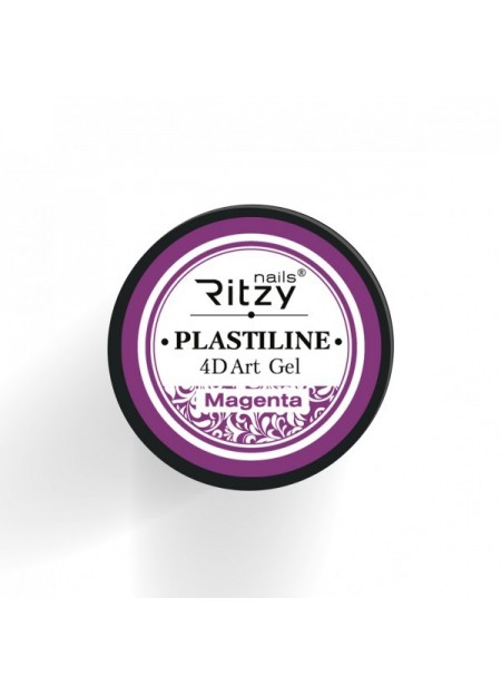 Plastiline 4d Art Gel Magenta
