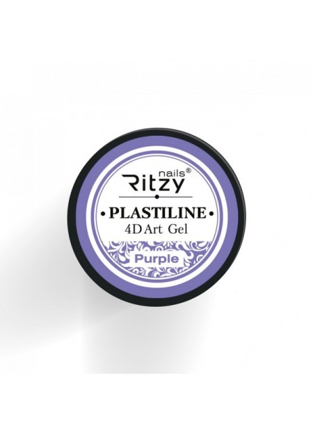 Plastiline 4d Art Gel Purple
