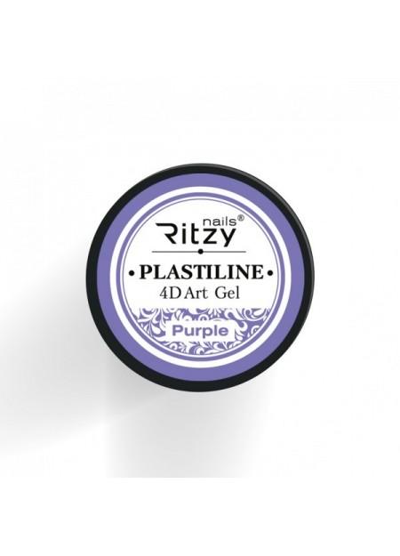 Plastiline 4d Art Gel Purple