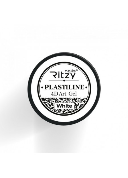 Plastiline 4d Art Gel White