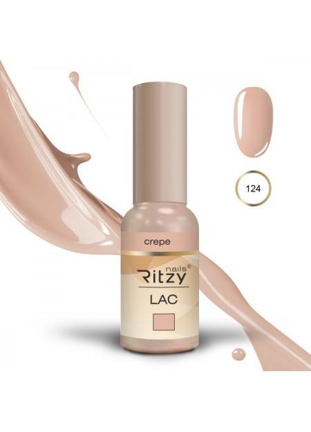 Ritzy Lac UV/LED gel Polish Crepe 124