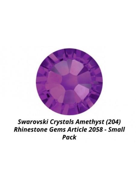 Swarovski Amethyst ss7
