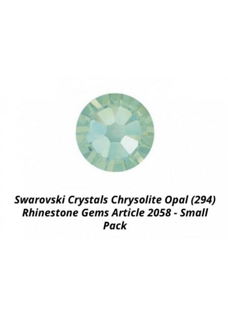 Swarovski Chrysolite Opal ss7