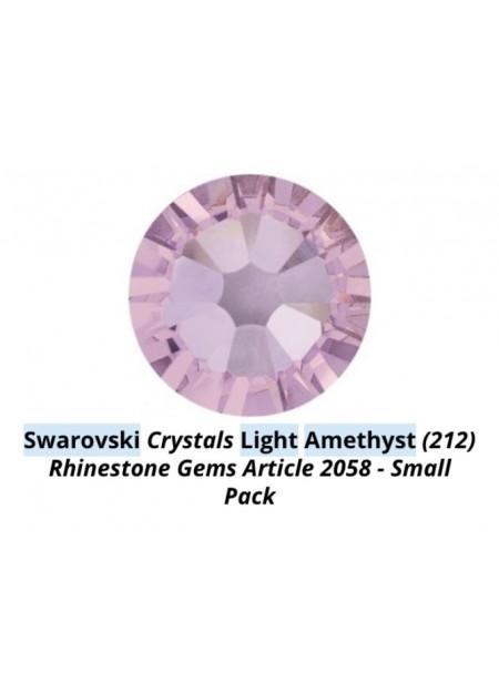 Swarovski Light Amethyst