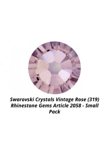 Swarovski Vintage Rose